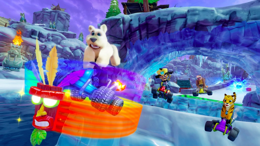 Crash Team Racing Nitro-Fueled превью