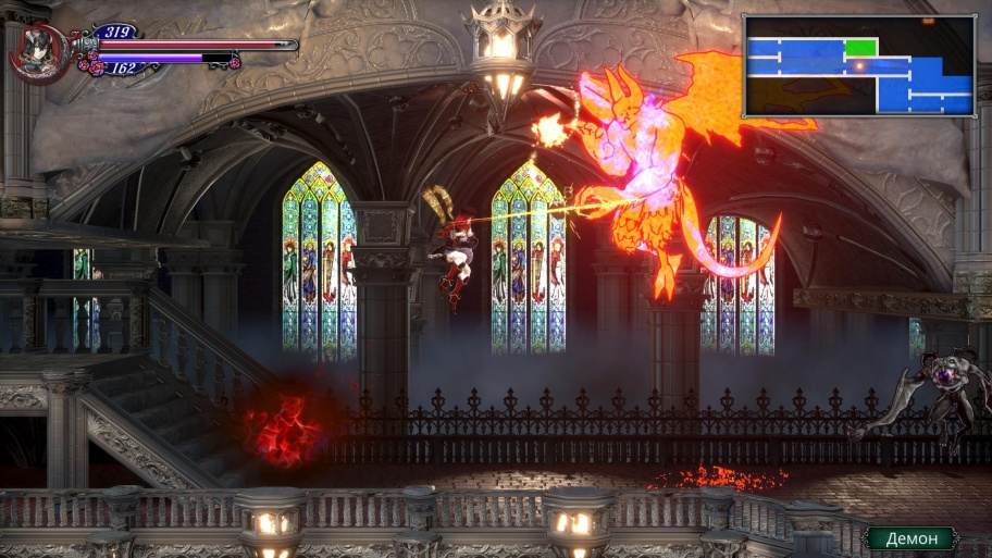 Bloodstained: Ritual of the Night обзор игры