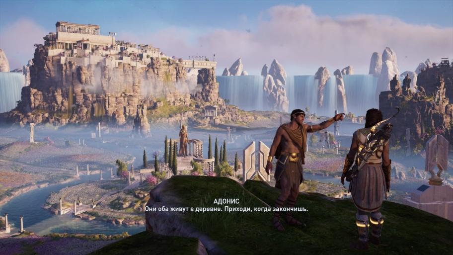 Assassin's Creed: Odyssey — The Fate of Atlantis обзор игры