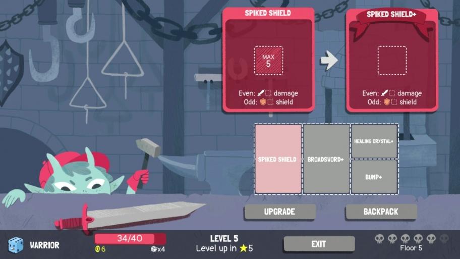 Dicey Dungeons обзор игры