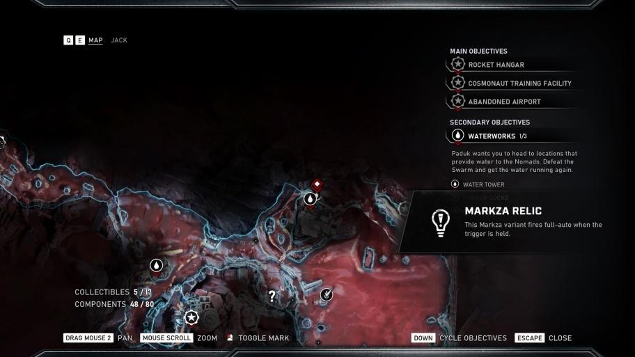 Gears 5: расположение оружия-реликвий