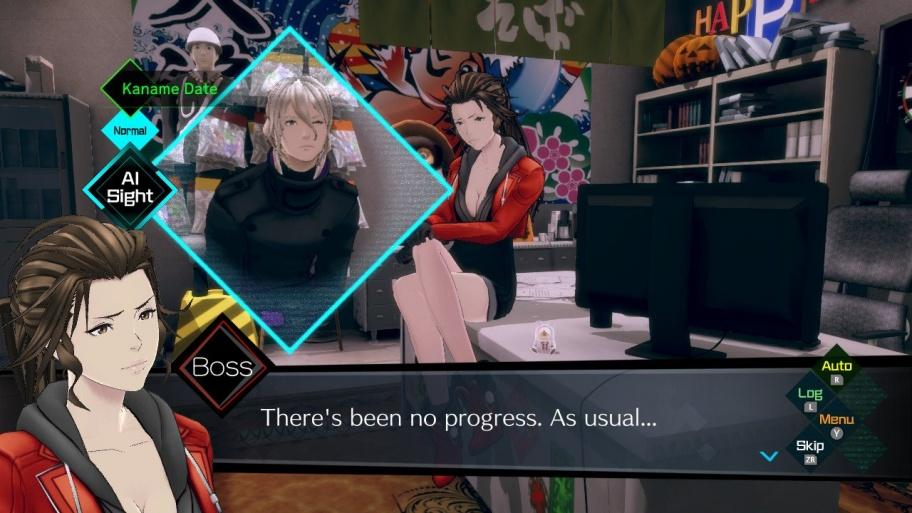 AI: The Somnium Files обзор игры