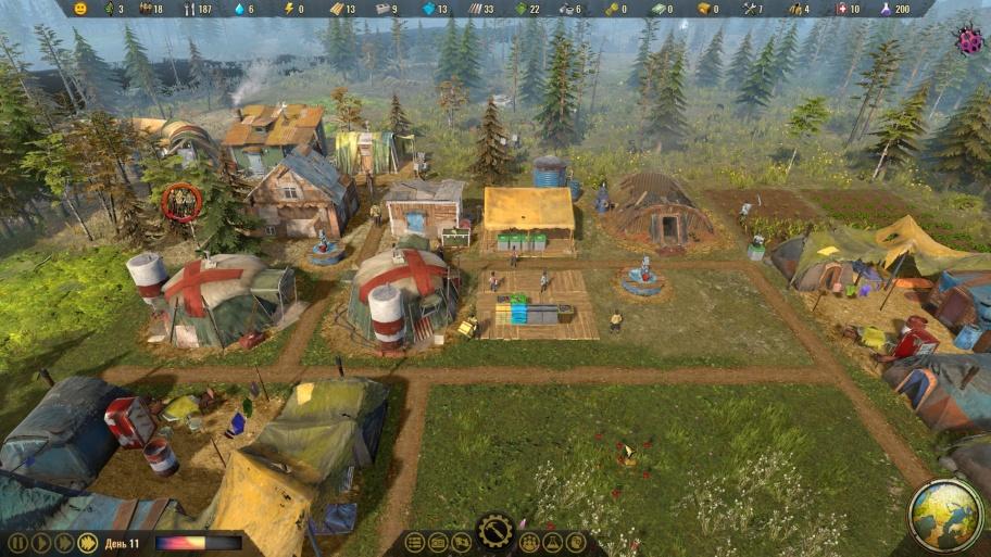 Surviving the Aftermath обзор игры