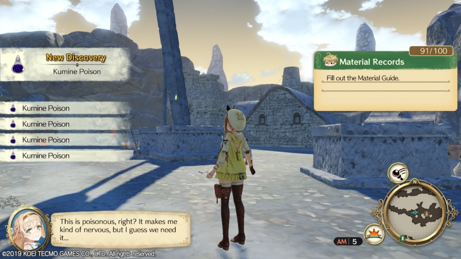 Atelier Ryza: Ever Darkness & the Secret Hideout обзор игры