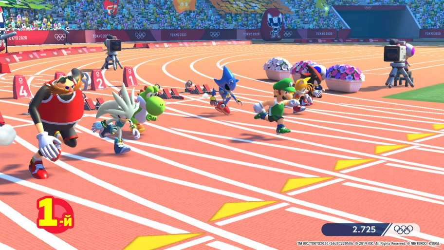 Mario & Sonic at the Olympic Games: Tokyo 2020 обзор игры