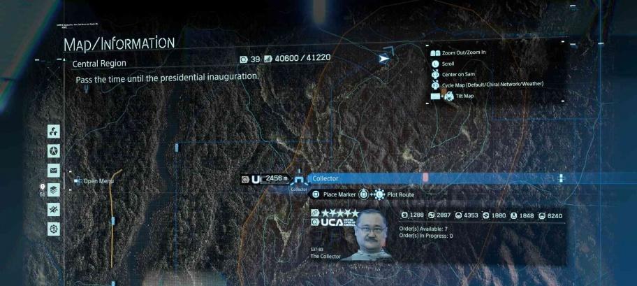 Death Stranding: Расположение всех объектов для подключения к UCA