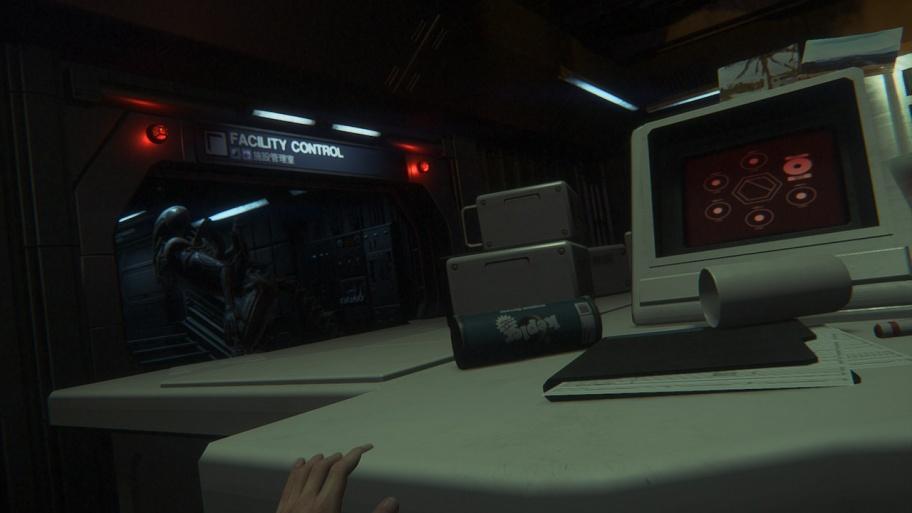 Alien: Isolation на Switch — Чужой в туалете