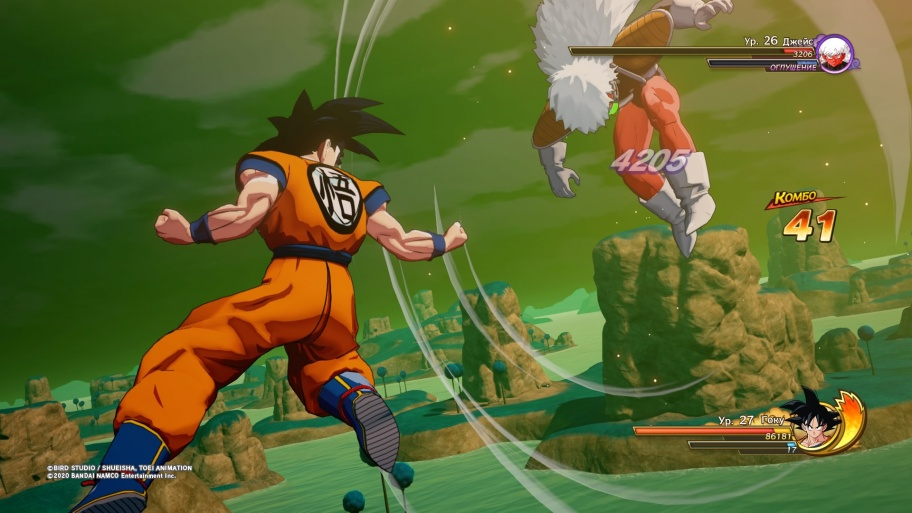 Dragon Ball Z: Kakarot обзор игры