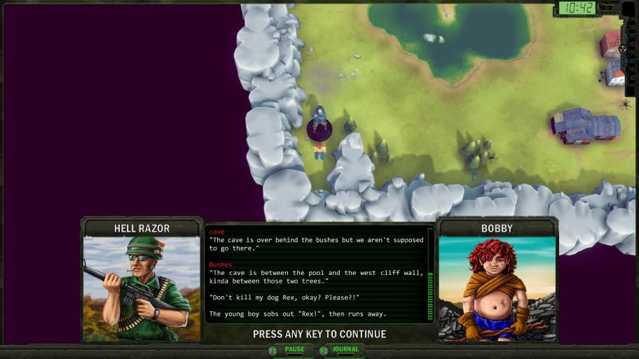 Wasteland Remastered обзор игры