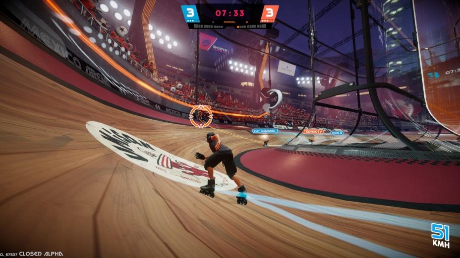 Roller Champions превью игры
