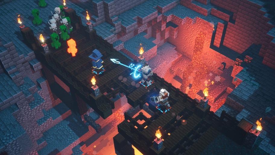 Угловатая Diablo — всё, что мы знаем о Minecraft Dungeons