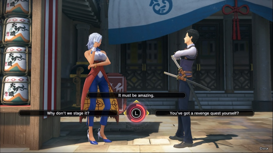 Sakura Wars  обзор игры