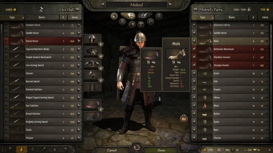 Mount & Blade 2: Bannerlord: Как увеличить скорость отряда