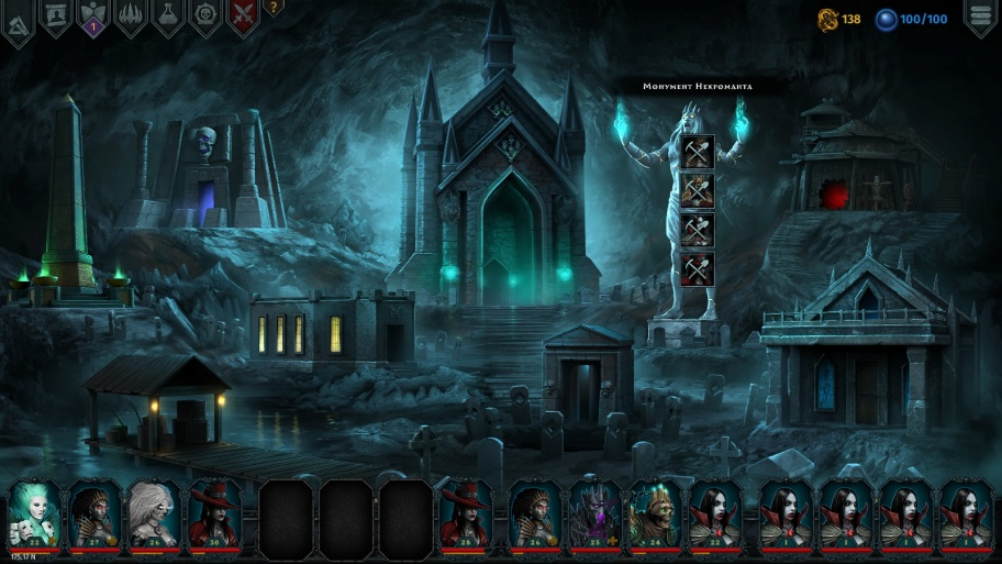 Iratus: Lord of the Dead обзор игры