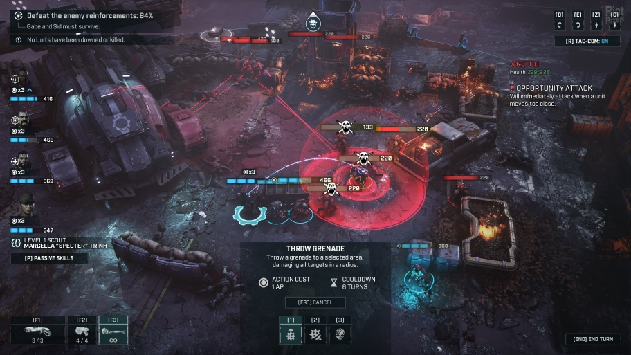 Gears Tactics: советы по прохождению