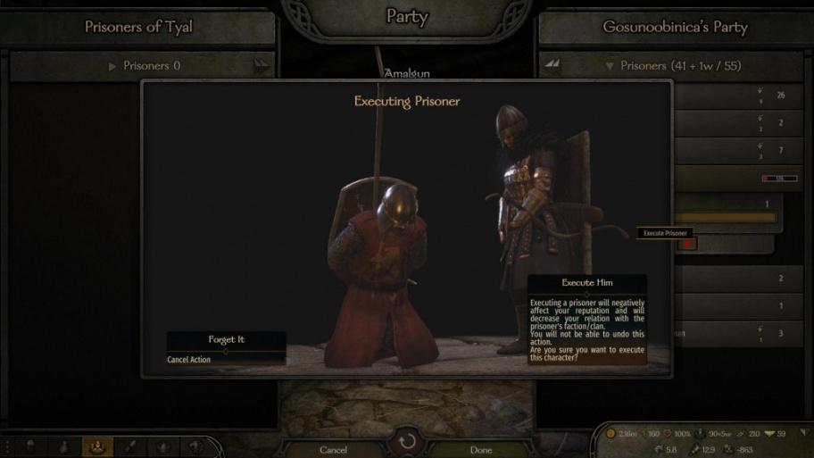 Mount & Blade 2: Bannerlord: как нанять вражеских солдат