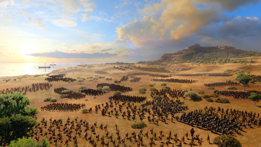 Total War Saga: Troy превью