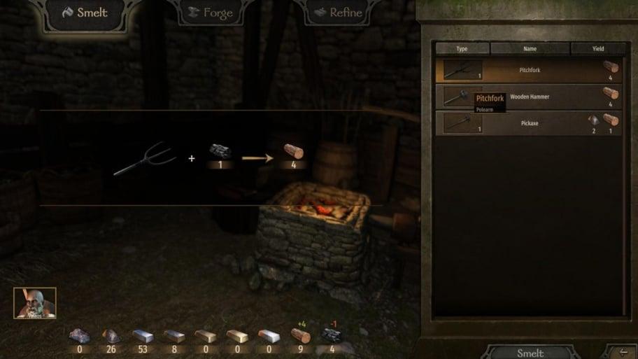 Mount & Blade 2: Bannerlord: как пользоваться кузницей