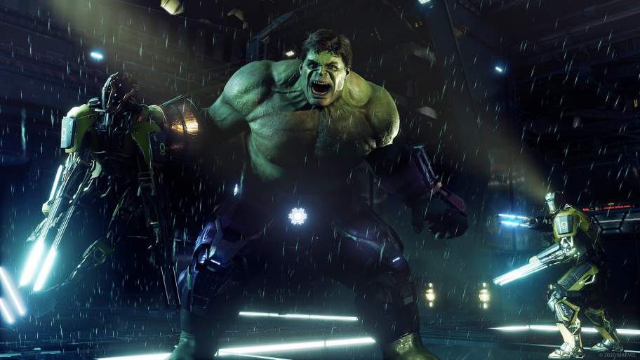 Marvel's Avengers превью