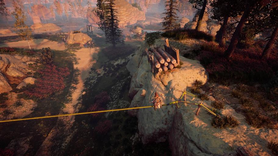 Horizon Zero Dawn: все испытания в Охотничьих угодьях