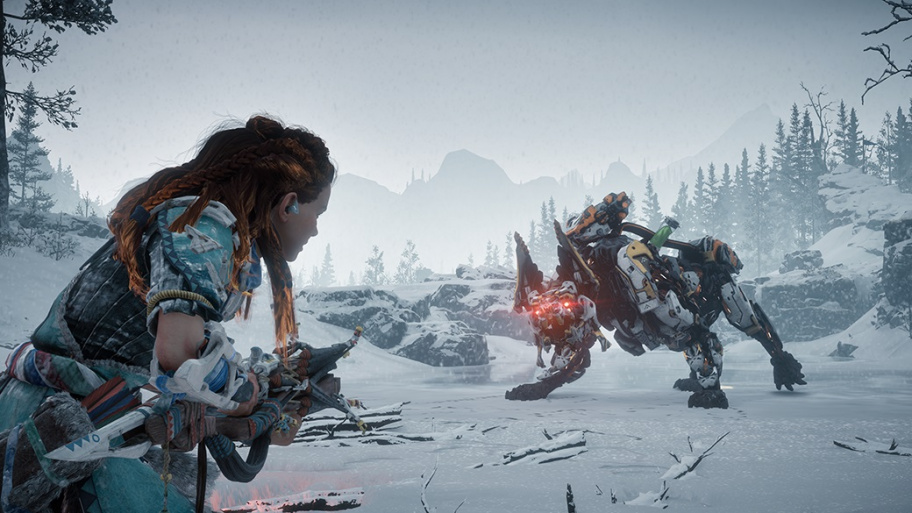Прохождение Horizon Zero Dawn: The Frozen Wilds