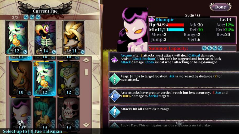 Fae Tactics обзор игры