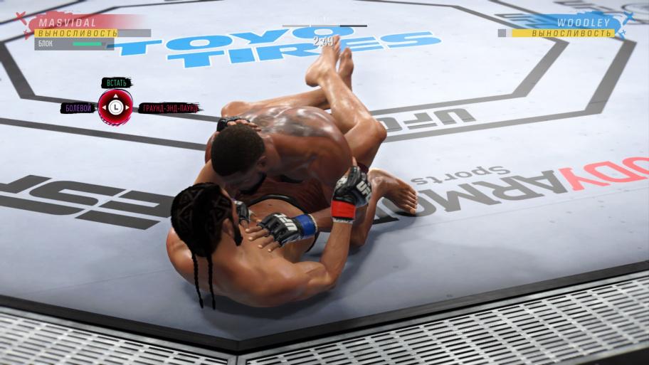 EA Sports UFC 4 обзор игры