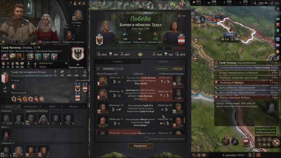 Crusader Kings III обзор игры