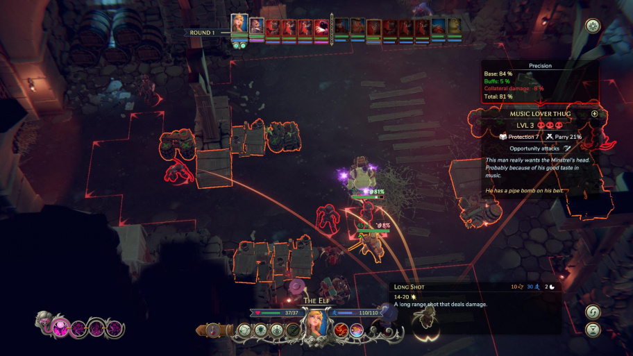 The Dungeon Of Naheulbeuk: The Amulet of Chaos обзор игры