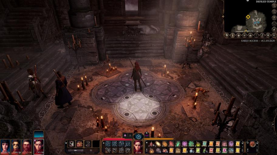 Baldur's Gate 3: как решить головоломку лунного света