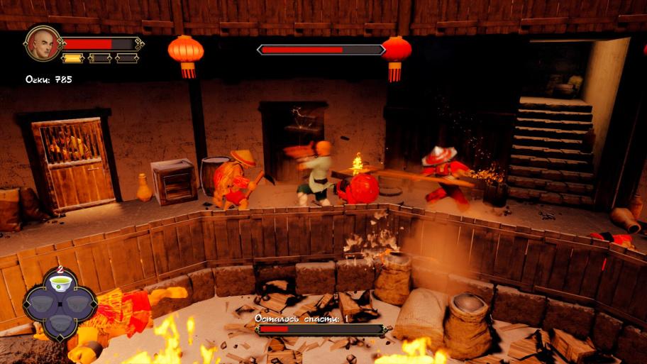 9 Monkeys of Shaolin обзор игры