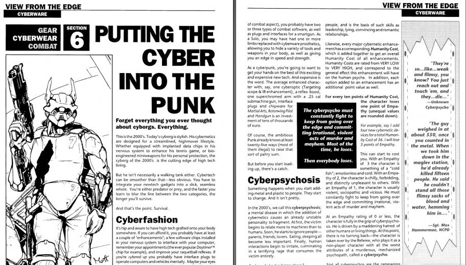 Рокеры, киберпсихоз и импланты для секса — чем крута настолка, породившая Cyberpunk 2077