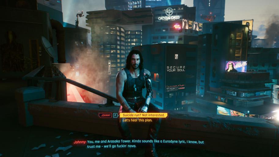 Cyberpunk 2077: Все концовки игры