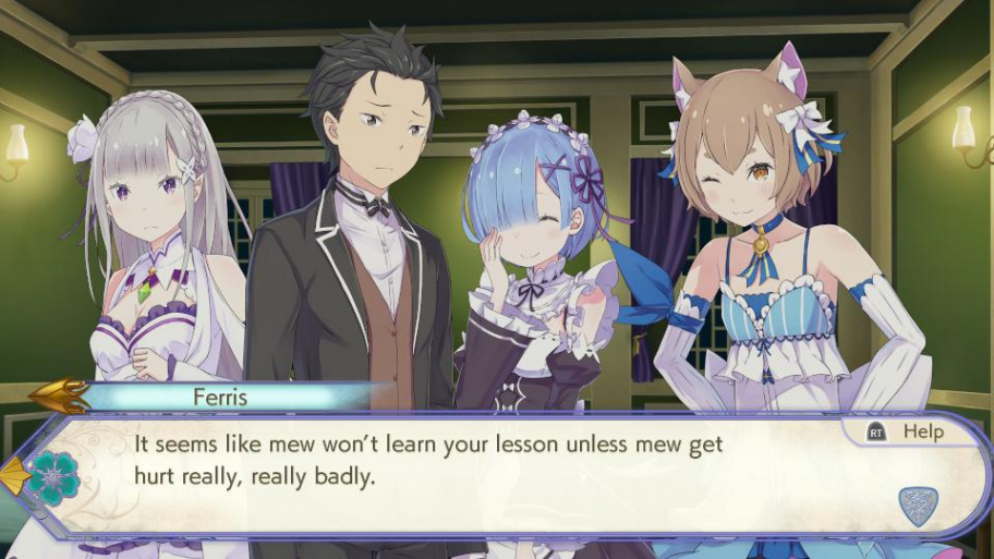 Re:ZERO -Starting Life in Another World- The Prophecy of the Throne обзор игры
