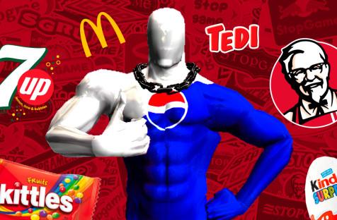 Самые кринжовые игры отPepsi, KFC, McDonald's ипрочих
