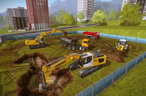Construction Simulator 2015. Нужно построить зиккурат