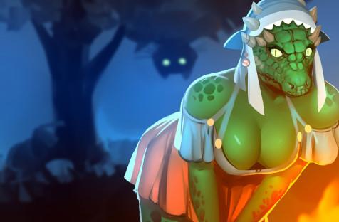 The Elder Scrolls IV: Oblivion. Впоисках аргонианской девы