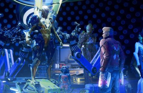 Marvel's Guardians of the Galaxy: Превью попресс-версии