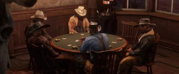 Red Dead Redemption 2 (покер, блек-джек)