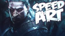 Геральт из Ривии — Speed Art