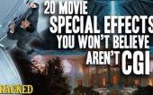 Спецэффекты в кино, которые, на самом деле, не компьютерная графика