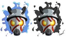 Gas Mask Speedpaint