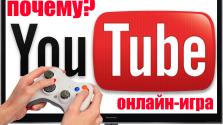 #1 ПОЧЕМУ YouTube — Онлайн-игра?