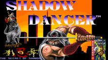 Shadow Dancer: The Secret of Shinobi (Sega Mega Drive).