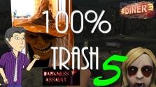 100% TRASH №5: Хреновые хорроры