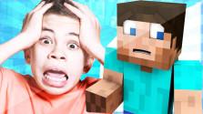 Отец жестко затроллил своего сына в Minecraft