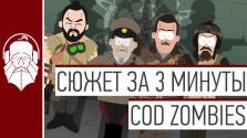 Сюжет COD Zombies за 3 минуты