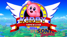 Kirby in Sonic the Hadgehog 1 (Sega Mega Drive).