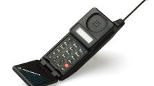 История мобильных телефонов.