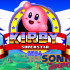 Kirby in Sonic the Hadgehog 1 (Sega Mega Driv…